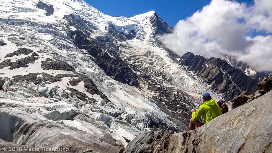 La Jonction · Alpes, Massif du Mont-Blanc, Vallée de Chamonix, FR · GPS 45°52'37.08'' N 6°51'28.73'' E · Altitude 2589m