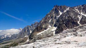 La Jonction · Alpes, Massif du Mont-Blanc, Vallée de Chamonix, FR · GPS 45°52'37.11'' N 6°51'28.68'' E · Altitude 2589m