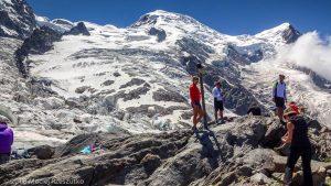 La Jonction · Alpes, Massif du Mont-Blanc, Vallée de Chamonix, FR · GPS 45°52'37.11'' N 6°51'28.73'' E · Altitude 2589m