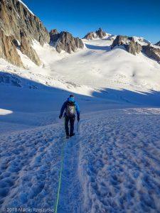 Glacier du Géant · Alpes, Massif du Mont-Blanc, FR · GPS 45°50'58.37'' N 6°55'25.09'' E · Altitude 3390m