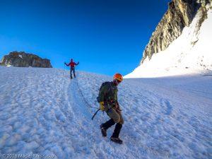 Glacier du Géant · Alpes, Massif du Mont-Blanc, FR · GPS 45°50'58.78'' N 6°55'23.68'' E · Altitude 3390m