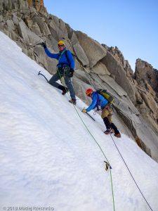 Passage de la rimaye · Alpes, Massif du Mont-Blanc, FR · GPS 45°51'8.62'' N 6°53'24.53'' E · Altitude 3650m