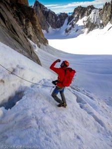 Passage de la rimaye · Alpes, Massif du Mont-Blanc, FR · GPS 45°51'8.62'' N 6°53'24.58'' E · Altitude 3650m