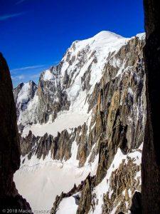 Mont Blanc depuis la Brèche Chaubert · Alpes, Massif du Mont-Blanc, FR · GPS 45°51'15.16'' N 6°53'35.34'' E · Altitude 4016m