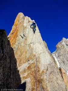 Escalade à la Pointe Chaubert · Alpes, Massif du Mont-Blanc, FR · GPS 45°51'15.18'' N 6°53'35.33'' E · Altitude 4016m