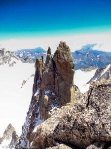 Aiguilles du Diable depuis l'Isolée · Alpes, Massif du Mont-Blanc, FR · GPS 45°51'16.83'' N 6°53'27.38'' E · Altitude 4114m