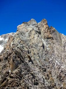 Mont Blanc du Tacul depuis l'Isolée · Alpes, Massif du Mont-Blanc, FR · GPS 45°51'16.88'' N 6°53'27.35'' E · Altitude 4114m