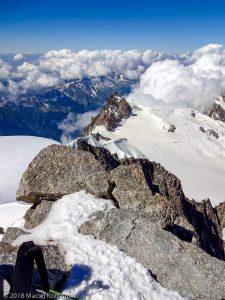 Aiguille du Midi depuis Mont Blanc du Tacul · Alpes, Massif du Mont-Blanc, FR · GPS 45°51'23.80'' N 6°53'16.18'' E · Altitude 4248m