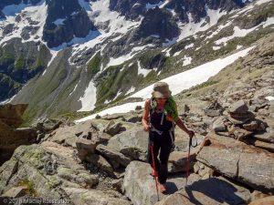 Traversée Salenton-Buet · Alpes, Préalpes de Savoie, Aiguilles Rouges, FR · GPS 46°0'22.12'' N 6°51'33.83'' E · Altitude 2330m