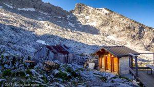 Refuge de Gramusset · Alpes, Préalpes de Savoie, Chaîne des Aravis, FR · GPS 45°57'20.62'' N 6°32'39.04'' E · Altitude 2151m