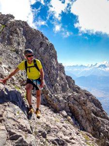 Cheminées de Salanches · Alpes, Préalpes de Savoie, Chaîne des Aravis, FR · GPS 45°57'15.85'' N 6°33'18.76'' E · Altitude 2654m