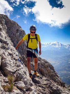 Cheminées de Salanches · Alpes, Préalpes de Savoie, Chaîne des Aravis, FR · GPS 45°57'15.96'' N 6°33'18.69'' E · Altitude 2657m