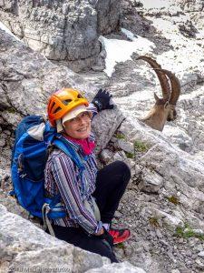 Descente par la voie normale · Alpes, Préalpes de Savoie, Chaîne des Aravis, FR · GPS 45°57'19.88'' N 6°33'16.35'' E · Altitude 2600m