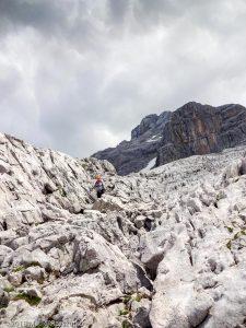 Sur la voie normale · Alpes, Préalpes de Savoie, Chaîne des Aravis, FR · GPS 45°57'20.52'' N 6°32'46.01'' E · Altitude 2205m
