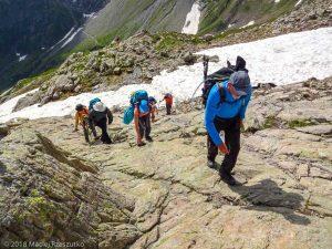 Sous le Col de Salenton · Alpes, Préalpes de Savoie, Aiguilles Rouges, FR · GPS 46°0'21.02'' N 6°51'35.62'' E · Altitude 2332m