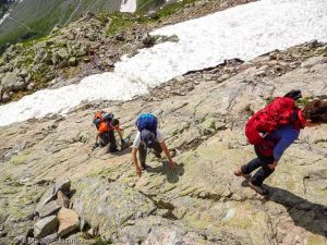 Sous le Col de Salenton · Alpes, Préalpes de Savoie, Aiguilles Rouges, FR · GPS 46°0'21.17'' N 6°51'35.51'' E · Altitude 2334m