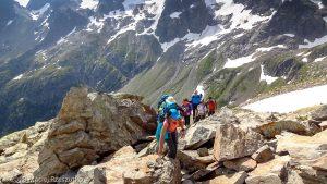 Sous le Col de Salenton · Alpes, Préalpes de Savoie, Aiguilles Rouges, FR · GPS 46°0'22.29'' N 6°51'33.80'' E · Altitude 2356m