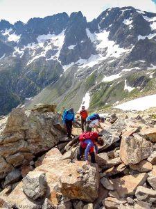 Sous le Col de Salenton · Alpes, Préalpes de Savoie, Aiguilles Rouges, FR · GPS 46°0'22.56'' N 6°51'33.66'' E · Altitude 2359m