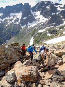 Sous le Col de Salenton · Alpes, Préalpes de Savoie, Aiguilles Rouges, FR · GPS 46°0'22.56'' N 6°51'33.56'' E · Altitude 2360m