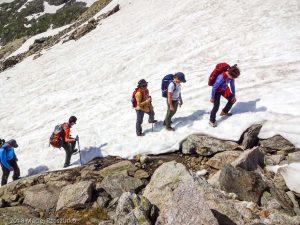 Sous le Col de Salenton · Alpes, Préalpes de Savoie, Aiguilles Rouges, FR · GPS 46°0'23.92'' N 6°51'31.63'' E · Altitude 2383m
