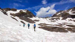 Traversée Salenton-Buet · Alpes, Préalpes de Savoie, Aiguilles Rouges, FR · GPS 46°0'38.65'' N 6°51'21.21'' E · Altitude 2516m