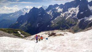 Traversée Salenton-Buet · Alpes, Préalpes de Savoie, Aiguilles Rouges, FR · GPS 46°0'38.70'' N 6°51'21.11'' E · Altitude 2517m