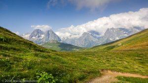 Col de Balme · Alpes, Massif du Mont-Blanc, Vallée de Chamonix, FR · GPS 46°1'37.64'' N 6°58'13.77'' E · Altitude 2207m