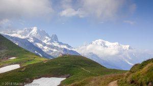 Col de Balme · Alpes, Massif du Mont-Blanc, Vallée de Chamonix, FR · GPS 46°1'44.09'' N 6°58'13.29'' E · Altitude 2205m