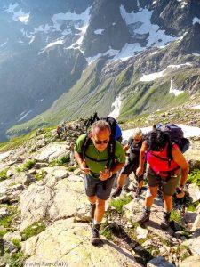 Dans la montée au Mont Buet · Alpes, Préalpes de Savoie, Aiguilles Rouges, FR · GPS 46°0'21.48'' N 6°51'35.16'' E · Altitude 2337m