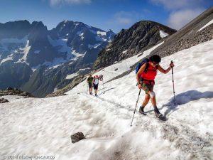 Dans la montée au Mont Buet · Alpes, Préalpes de Savoie, Aiguilles Rouges, FR · GPS 46°0'37.39'' N 6°51'22.31'' E · Altitude 2499m