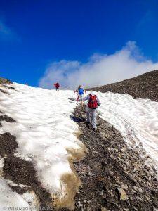Dans la montée au Mont Buet · Alpes, Préalpes de Savoie, Aiguilles Rouges, FR · GPS 46°0'37.48'' N 6°51'22.28'' E · Altitude 2500m