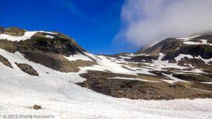 Dans la montée au Mont Buet · Alpes, Préalpes de Savoie, Aiguilles Rouges, FR · GPS 46°0'39.40'' N 6°51'20.09'' E · Altitude 2517m