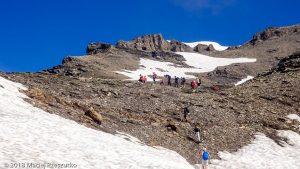 Dans la montée au Mont Buet · Alpes, Préalpes de Savoie, Aiguilles Rouges, FR · GPS 46°0'49.00'' N 6°51'1.20'' E · Altitude 2625m