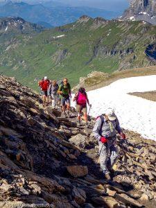 Dans la montée au Mont Buet · Alpes, Préalpes de Savoie, Aiguilles Rouges, FR · GPS 46°0'55.34'' N 6°51'1.59'' E · Altitude 2692m
