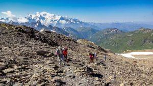 Dans la montée au Mont Buet · Alpes, Préalpes de Savoie, Aiguilles Rouges, FR · GPS 46°0'58.67'' N 6°51'4.21'' E · Altitude 2722m