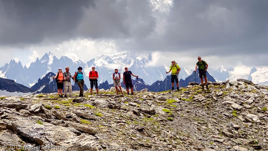 Dans la descente du Mont Buet · Alpes, Préalpes de Savoie, Aiguilles Rouges, FR · GPS 46°0'57.04'' N 6°51'2.55'' E · Altitude 2706m