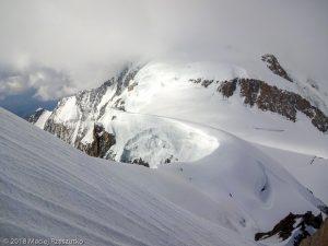 Sur l'arête NNO du Mont Maudit · Alpes, Massif du Mont-Blanc, Vallée de Chamonix, FR · GPS 45°50'51.81'' N 6°52'30.56'' E · Altitude 4396m