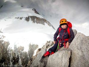 Sommet du Mont Maudit · Alpes, Massif du Mont-Blanc, Vallée de Chamonix, FR · GPS 45°50'50.65'' N 6°52'33.38'' E · Altitude 4465m