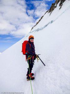 Retour au Col du Mont Maudit · Alpes, Massif du Mont-Blanc, Vallée de Chamonix, FR · GPS 45°50'52.00'' N 6°52'25.12'' E · Altitude 4351m