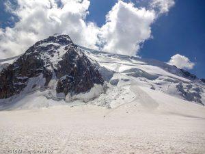 De retour au Col du Midi · Alpes, Massif du Mont-Blanc, Vallée de Chamonix, FR · GPS 45°52'9.38'' N 6°53'10.93'' E · Altitude 3533m