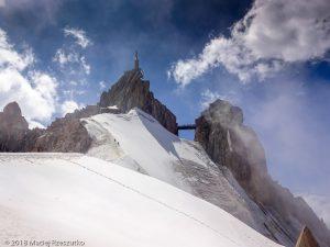 Retour à l'Aiguille du Midi · Alpes, Massif du Mont-Blanc, Vallée de Chamonix, FR · GPS 45°52'45.81'' N 6°53'19.15'' E · Altitude 3714m