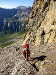 Itinéraire N°14 dans le Val Veny · Alpes, Massif du Mont-Blanc, Val Veny, IT · GPS 45°46'57.04'' N 6°50'47.98'' E · Altitude 2613m