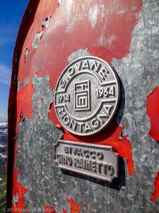 Bivouac Gino Rainetto · Alpes, Massif du Mont-Blanc, Val Veny, IT · GPS 45°47'8.15'' N 6°50'24.46'' E · Altitude 3046m