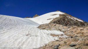 Derniers 200 mètres · Alpes, Massif du Mont-Blanc, Val Veny, IT · GPS 45°47'21.10'' N 6°50'14.14'' E · Altitude 3195m
