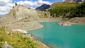 La du Miage · Alpes, Massif du Mont-Blanc, Val Veny, IT · GPS 45°46'42.72'' N 6°52'10.44'' E · Altitude 2022m