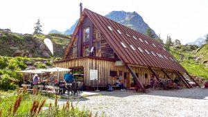 Cabane du Combal · Alpes, Massif du Mont-Blanc, Val Veny, IT · GPS 45°46'34.71'' N 6°52'4.35'' E · Altitude 1973m