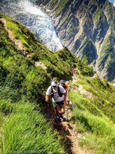Montée à la Jonction · Alpes, Massif du Mont-Blanc, Vallée de Chamonix, FR · GPS 45°52'58.16'' N 6°51'10.81'' E · Altitude 2104m