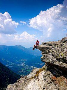 Bec du Corbeau · Alpes, Massif du Mont-Blanc, Vallée de Chamonix, FR · GPS 45°52'59.99'' N 6°51'11.89'' E · Altitude 2221m