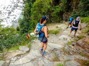 Descente du Chalet des Pyramides · Alpes, Massif du Mont-Blanc, Vallée de Chamonix, FR · GPS 45°53'19.30'' N 6°51'8.72'' E · Altitude 1843m