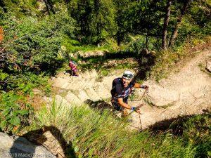 Montée à la La Tête aux Vents · Alpes, Aiguilles Rouges, Vallée de Chamonix, FR · GPS 46°0'5.43'' N 6°55'6.47'' E · Altitude 1668m